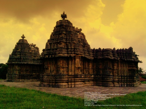 नागेश्वरा-चेन्नकेशवा मंदिर, मोसले (Digitally Altered)