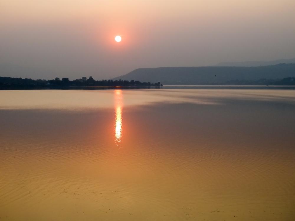 Sunset, Khadakwasala Dam (3/6)