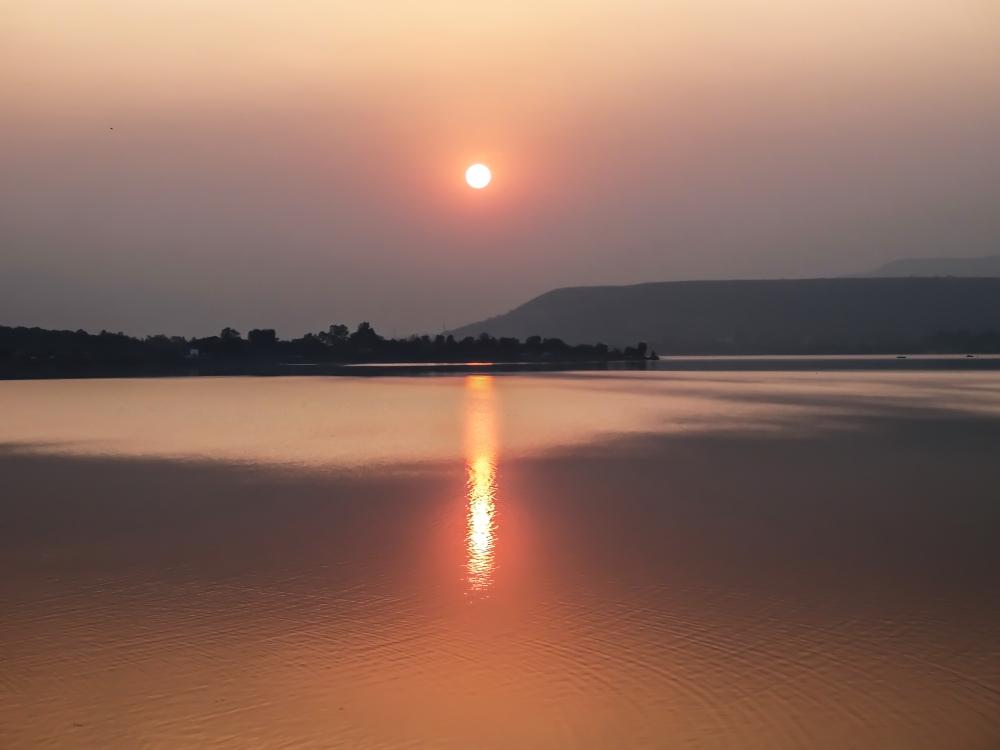 Sunset, Khadakwasala Dam (1/6)