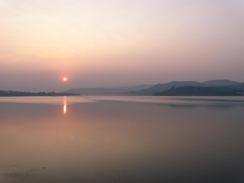 Sunset, Khadakwasala Dam (2/6)