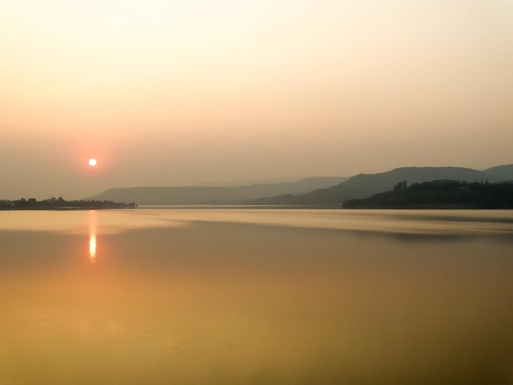 Sunset, Khadakwasala Dam (4/6)