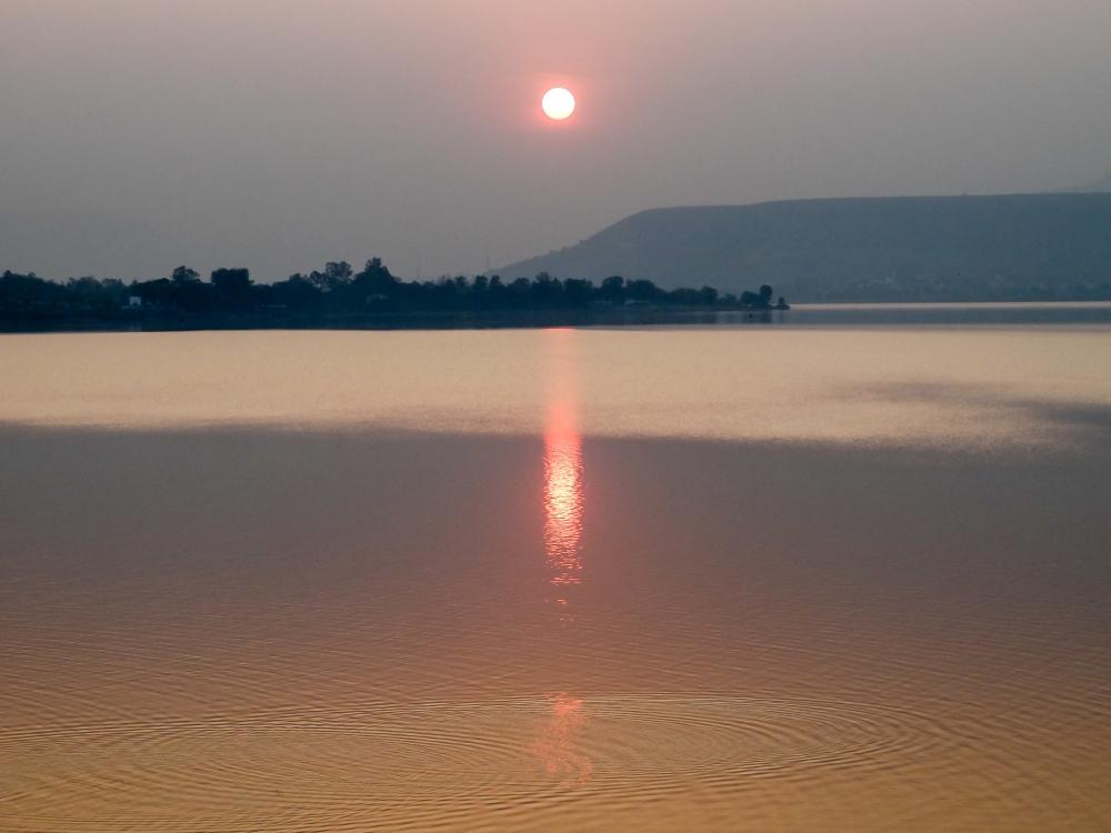 Sunset, Khadakwasala Dam (5/6)