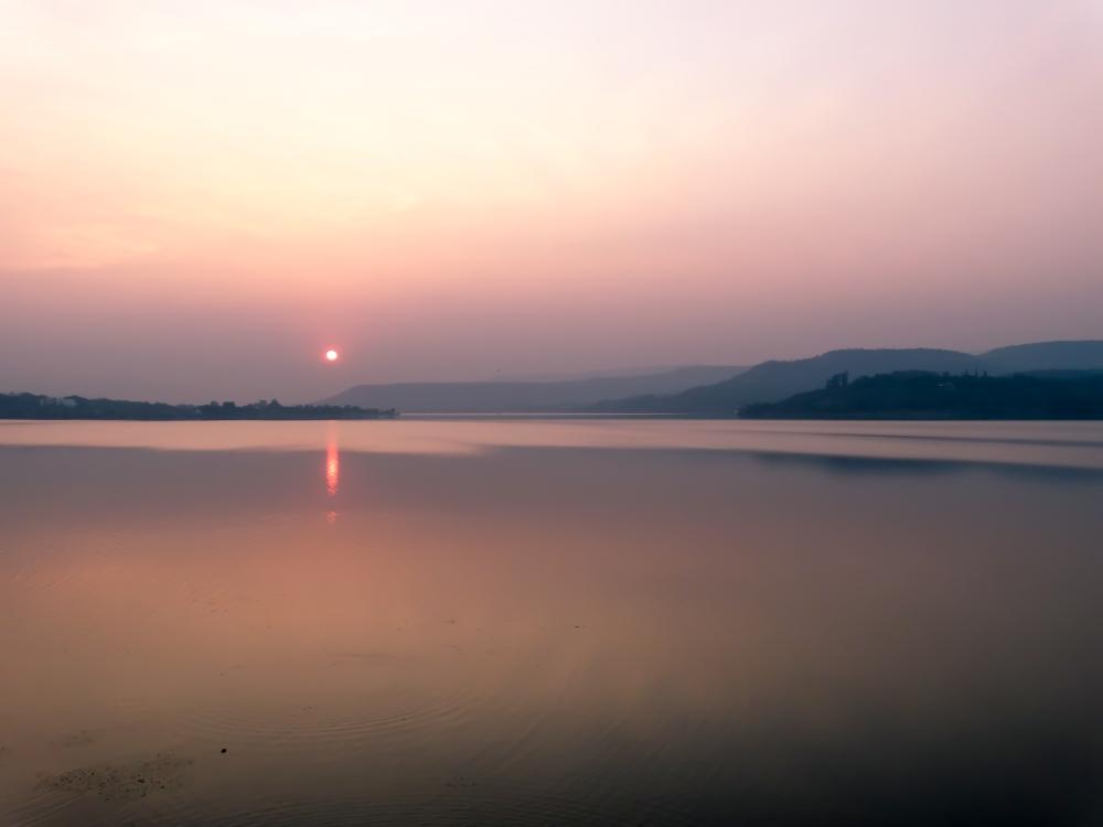 Sunset, Khadakwasala Dam (6/6)